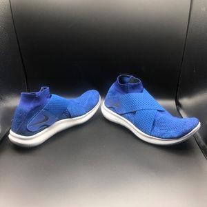 Men's Nike Free RN Motion Flyknit 2017 Blue